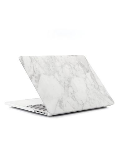 "Mcstorey MacBook Air A1369/A1466 13"" 13.3"" Kılıf Sert Kapak Koruma Hard Incase Mermer Renkli"